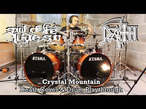Death - Crystal Mountain (Drum Playthrough & Full Band Cover)