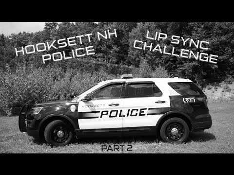 Hooksett NH Police Lip Sync Challenge - Confident