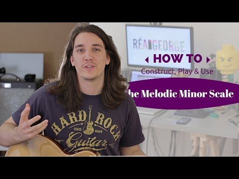 The Melodic Minor Scale, Construction & Usage - Axe Tuts S02E14