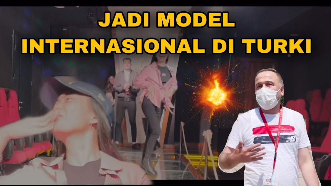 DI TURKI JADI MODEL INTERNASIONAL SAMPE KE GUNUNG ES😱😍
