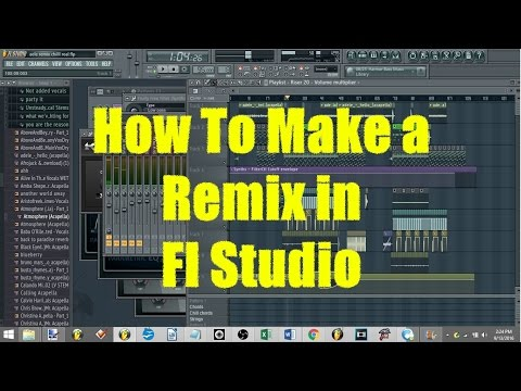 How To Make a Remix In FL Studio: Finding Stems, Figuring Out the Key, and Much More