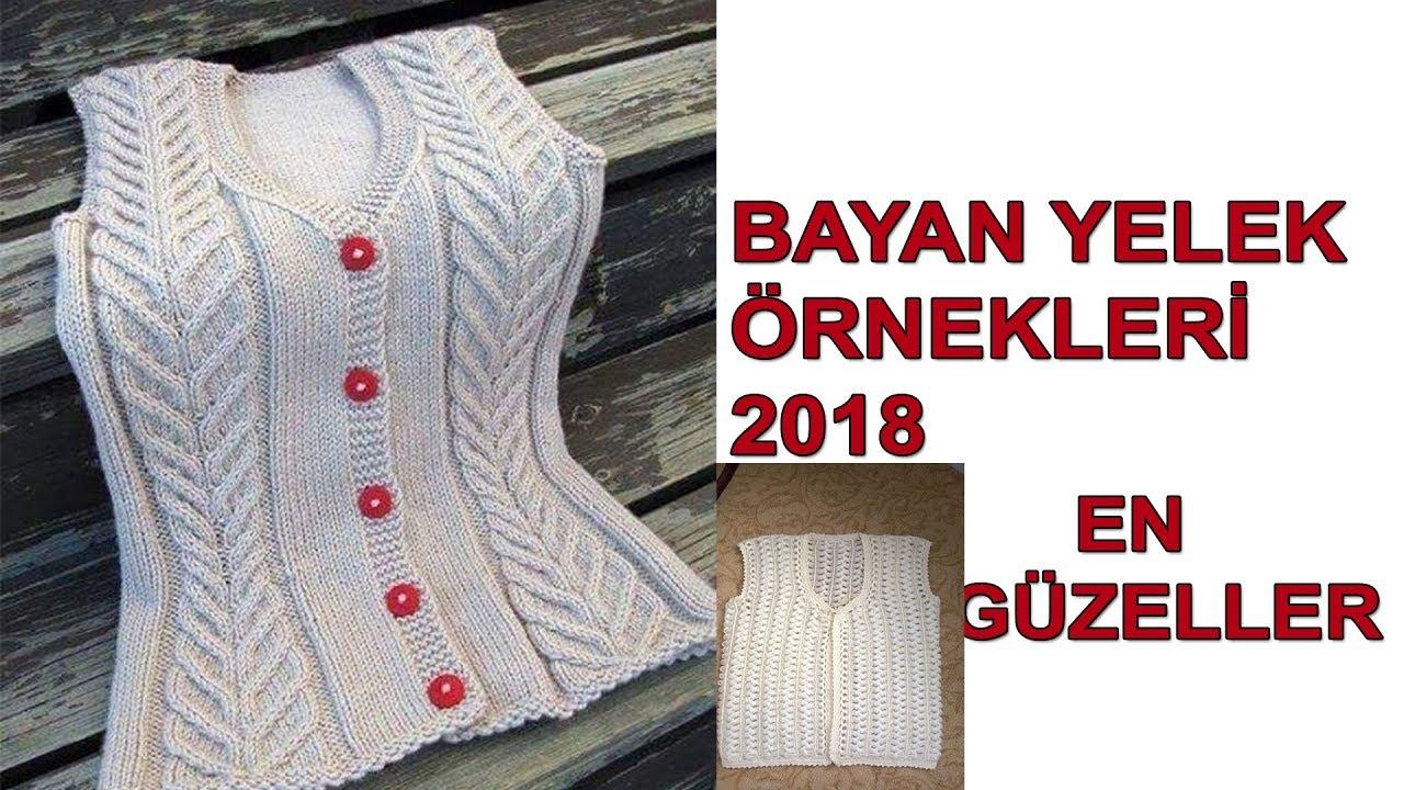 Bayan Yelek Modelleri 2019