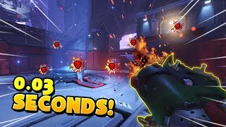 How to Get 6 Kills in 0.03 Seconds!! - Overwatch Funny Moments Best Plays 39