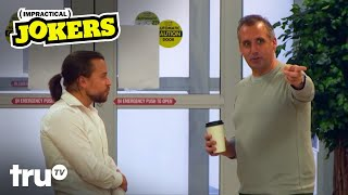 Impractical Jokers - Joe Tries to Convince Man to Work at Sperm Bank (Clip) | truTV