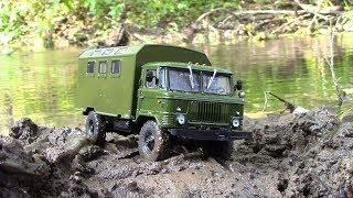 Легендарные грузовики СССР №3 ГАЗ 66 кунг MODIMIO