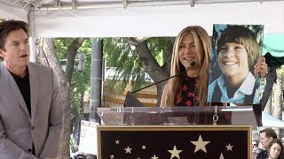 Jennifer Aniston Speech at Jason Bateman's Hollywood Star Ceremony