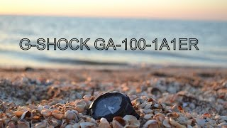 часы casio G-SHOCK GA-100-1A1ER. обзор после 4-х лет использования. мысли.