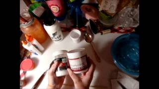 How To Make Chalk Paint and Modeling Paste From Calcium Carbonate (Marble Dust)