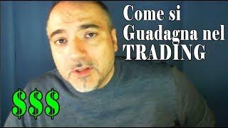 Impariamo a GUADAGNARE CON IL TRADING Strategie di Trading Opzioni Binarie Forex