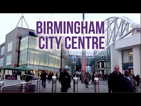 The UK Today - Walking Through Birmingham City Centre.. March 2016