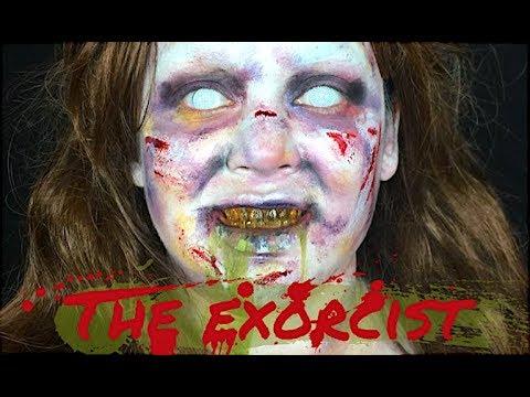Halloween series2: linda blair / regan from the exorcist makeup.
