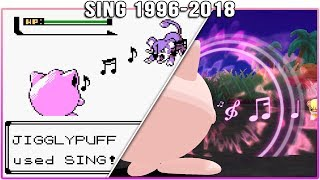 Evolution of Sing - Pokémon Moves (1996-2018)
