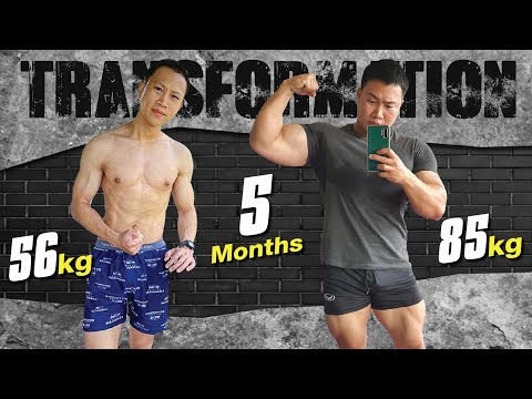 จากนักกินระดับประเทศ สู่ นักกล้าม แน็ต Eater Cnx จาก 56กิโล ไป 85กิโล ใน 5เดือน ทำยังไง
