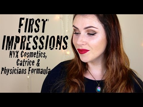 First impressions tutorial nyx catrice physicians formula