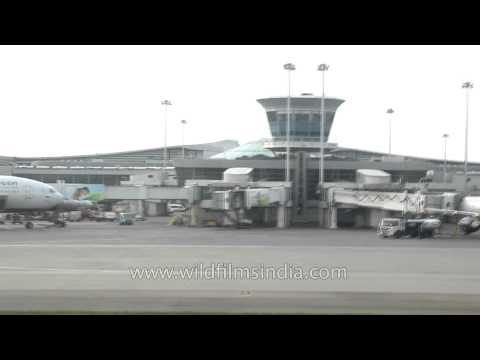 Taxiing at Sheremetyevo airport - Russia
