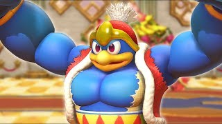 Kirby Star Allies | Cave and Castle Stages (Buff Dedede Fight)