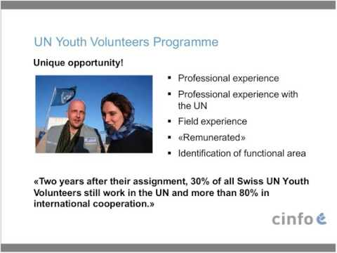 Webinar on the UN Youth Volunteers Programme 2017