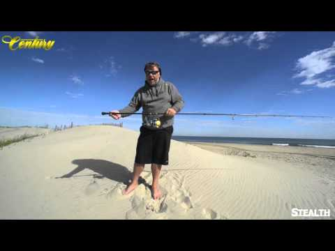 Century Fishing Rods Stelth Series Advanced Fishing  Premier Long Distance Casting Big Game Fishing