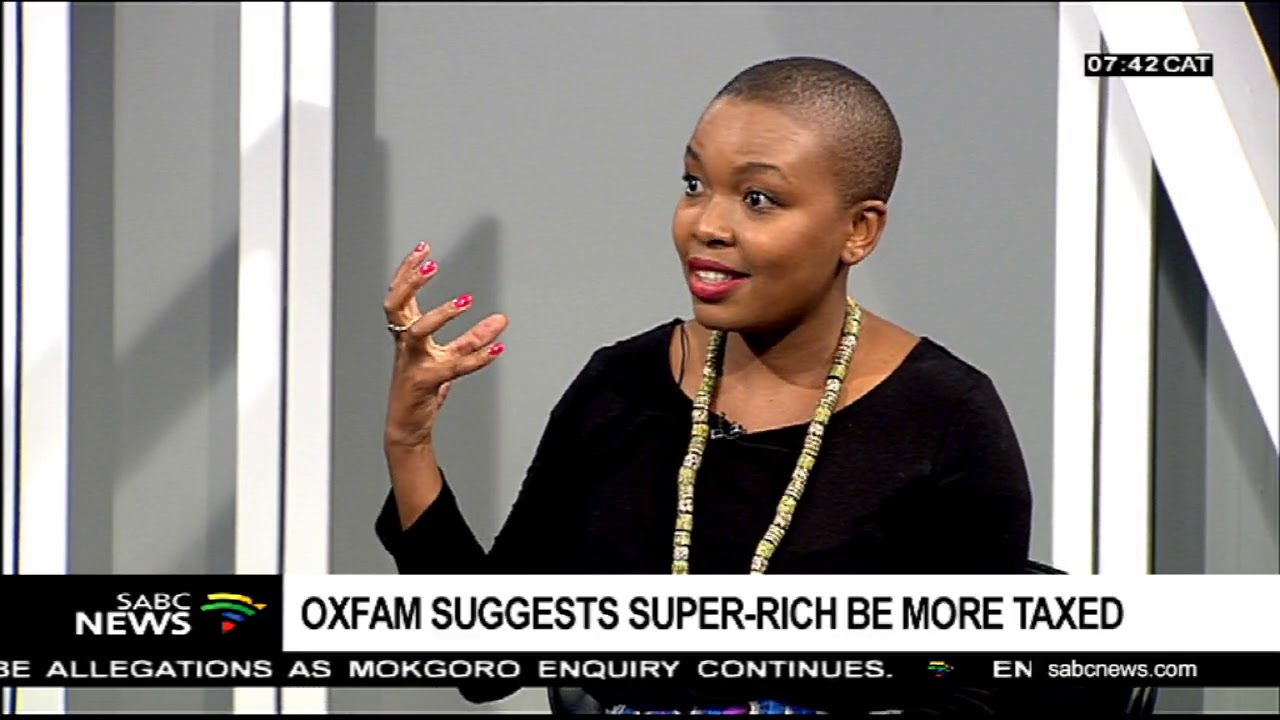 Oxfam suggests super-rich be more taxed
