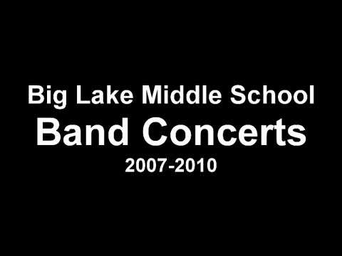Big Lake Middle School Band Concerts | 2007-2010