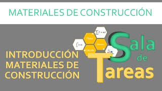 Introducción materiales de construcción