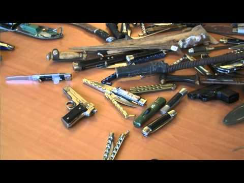 GPTV: Anoniem steekwapens inleveren bij politie leverd 147 messen op