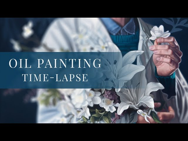 Saint Gianna Molla » Oil Painting Time-lapse by Tianna Williams