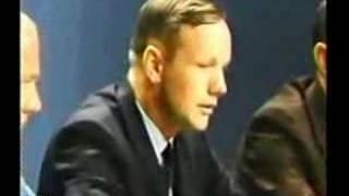 Clip of Apollo 11 press conference