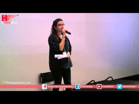 HAW Talks 2015 Presents: ZENA AGHA,  Palestinian-Iraqi writer, poet, public speaker and activist