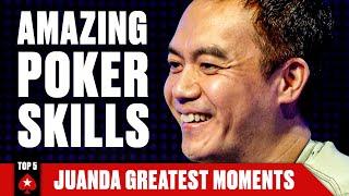 John Juanda has more than TRIPS ♠️ PokerStars
