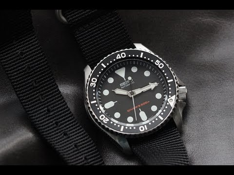 seiko skx007 review youtube