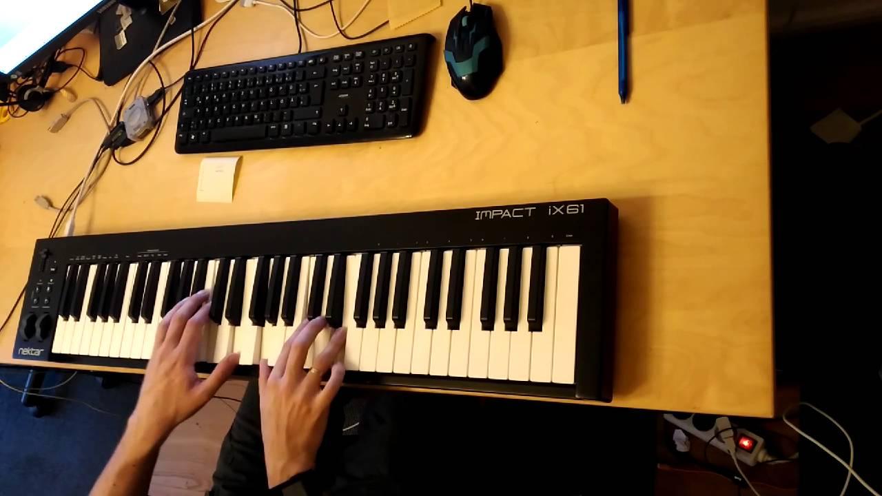 Beautiful Cello Improvisation – MIDI Keyboard