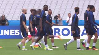 France training at the Stade de France - 09.06