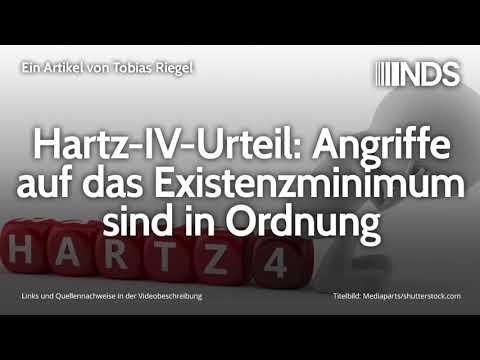 Hartz-IV-Urteil: Angriffe auf das Existenzminimum sind in Ordnung   Tobias Riegel   07.11.2019