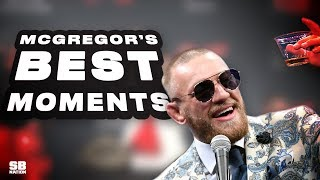 Conor McGregor's Greatest Press Conference Moments