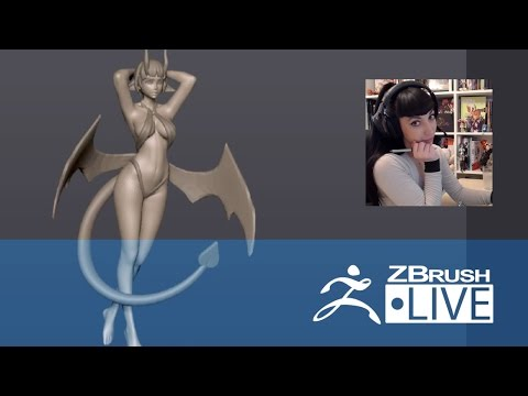Layna Lazar - 3D Sculpting for Figurine Production - Episode 4