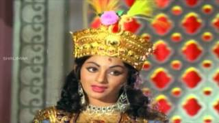 Akbar Saleem Anarkali Movie || Reyi Aagiponee Video Song || NTR, Balakrishna, Deepa
