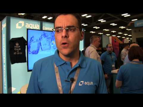 DockerCon 2017 Video Interview with Aqua - #DockerCon