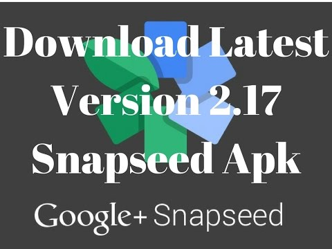 snapseed apk download new version