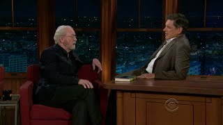 Late Late Show with Craig Ferguson 10/28/2010 Michael Caine