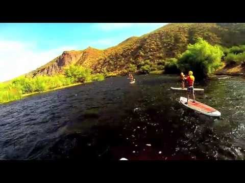 Stand Up Paddleboard on the Salt River
