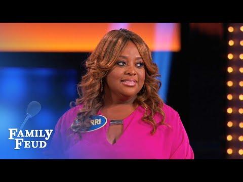 FEUD ain't THERAPY Sherri! | Celebrity Family Feud