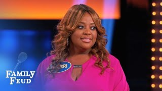 FEUD ain't THERAPY Sherri! | Celebrity Family Feud