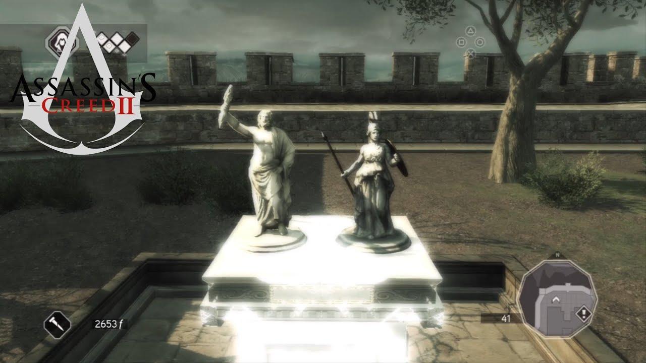 Assassin S Creed  Villa Auditore Statues