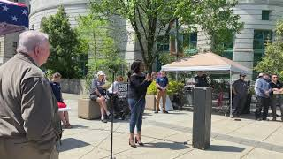 Education First Alliance's Danielle Nicole Robinson at Legislative Action Day