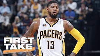 Should The Lakers Deal For Paul George Right Now First Take June 21, 2017