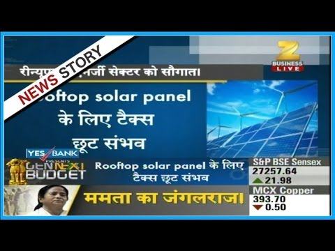 Govt may give relief to renewable energy sector