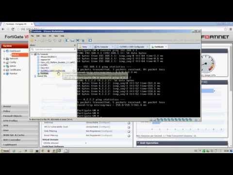 Installing Virtual Firewall Fortinet Fortigate Vm On Vmware Workstation Spanish