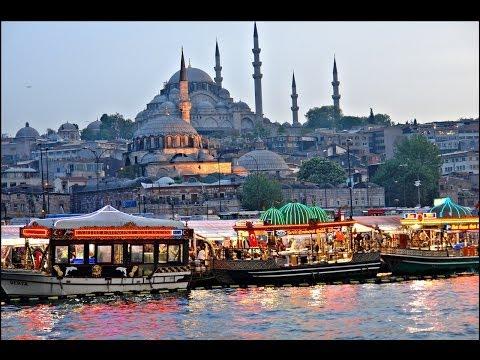 Istanbul - Eminönü  (Mısır Çarşısı, Yeni Camii, Galata Köprüsü, Çiçek Pazarı)