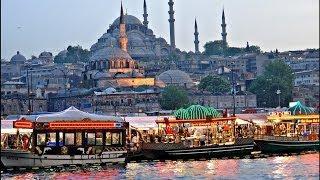 Istanbul Eminönü Mısır Çarşısı Yeni Camii Galata Köprüsü Çiçek Pazarı